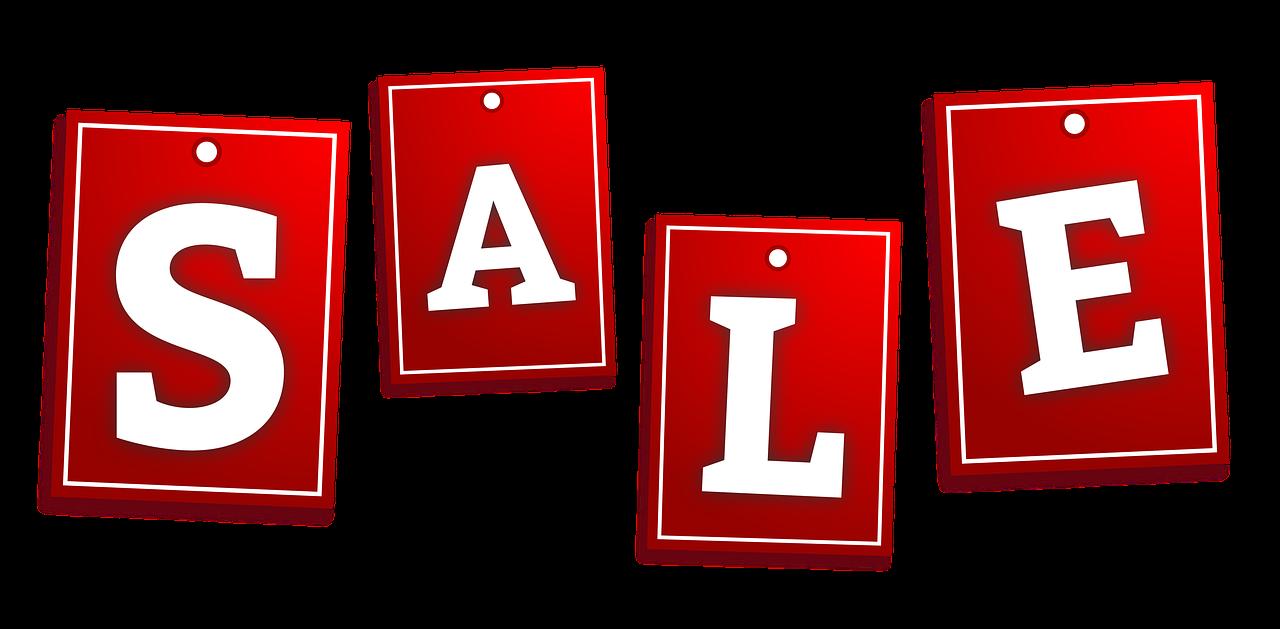 the sale, discounts, element