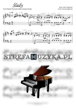Ślady - Fisz Emade Tworzywo - nuty na pianino