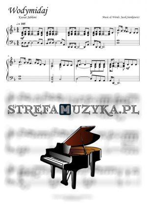 Wodymidaj - Kwiat Jabłoni - nuty na pianino