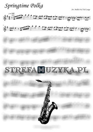 Springtime Polka Saksofon Tenorowy Mollie B & Ted Lange