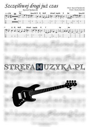 Szczęśliwej Drogi Już Czas - Gitara Basowa - Bass tab