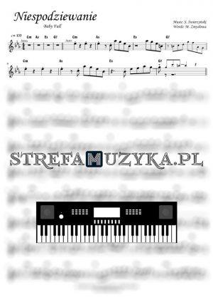 Niespodziewanie - Baby Full - Nuty na keyboard