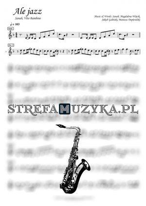 Ale jazz - Sanah, Vito Bambino - saksofon tenorowy (www.strefamuzyka.pl)