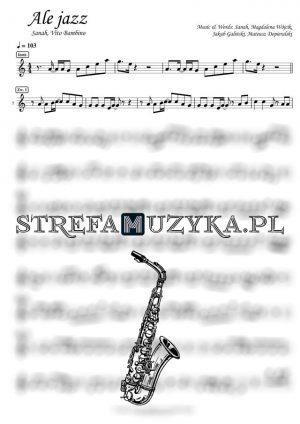 Ale jazz - Sanah, Vito Bambino - saksofon altowy (www.strefamuzyka.pl)
