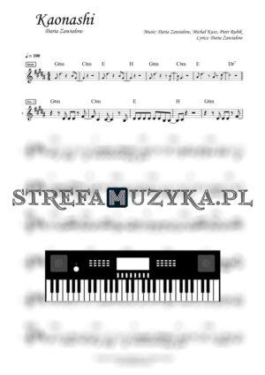 Kaonashi nuty keyboard