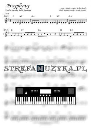 Przypływy - Natalia Szroeder, Ralph Kaminski - Nuty na keyboard