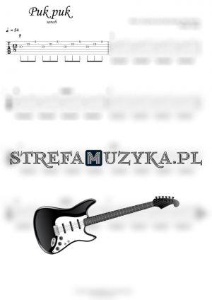 Puk puk - sanah - Chords & Tab Guitar - StrefaMuzyka.pl