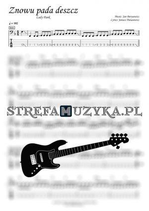Znowu pada deszcz - Lady Pank - Gitara Basowa - StrefaMuzyka.pl