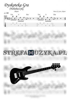 Dyskoteka Gra (Hahahaczyk) - Akurat - Gitara Basowa - StrefaMuzyka.pl