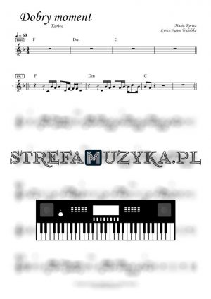 Dobry moment - Kortez keyboard