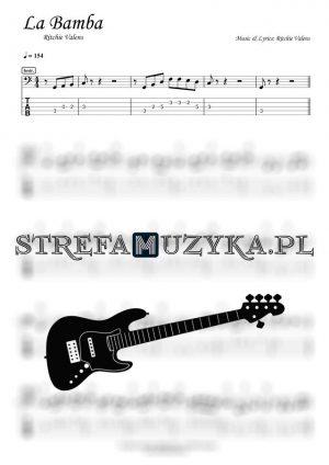 La Bamba - Ritchie Valens - Bass Tab - Gitara Basowa - StrefaMuzyka.pl