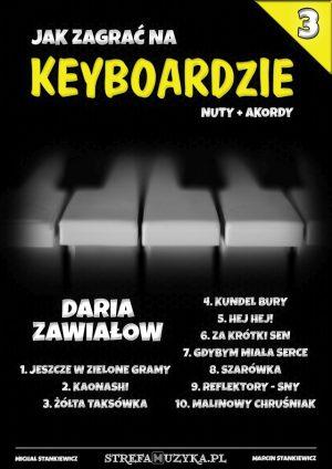 Jak zagrać na Keyboardzie #3 - Daria Zawiałow - Nuty na Keyboard