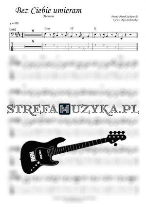 Bez Ciebie umieram - Maanam - Gitara Basowa - StrefaMuzyka.pl