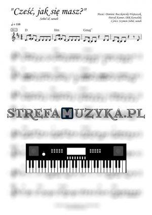 Cześć, jak się masz? - Sobel & sanah - Keyboard - StrefaMuzyka.pl
