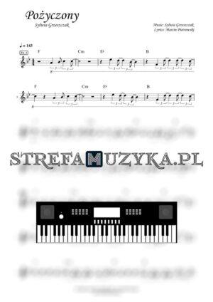 Pożyczony - Sylwia Grzeszczak - Keyboard - StrefaMuzyka.pl